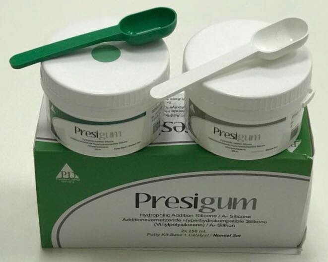 Presigum putty Kit Base+Catalyst/Normal Set
