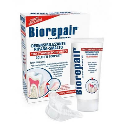 Biorepair Desensitizing Enamel Repairer Treatment - для чувствительных зубов